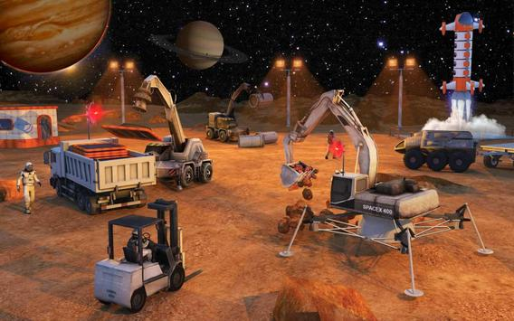 Space City Construction Simulator Game:Mars Colony screenshot 6