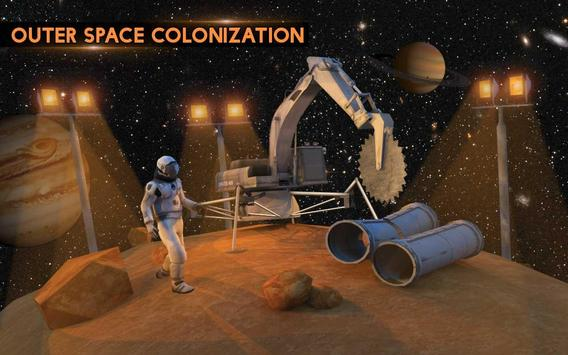 Space City Construction Simulator Game:Mars Colony screenshot 8