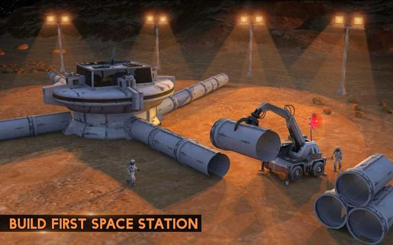 Space City Construction Simulator Game:Mars Colony screenshot 10