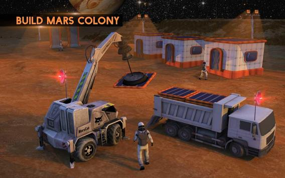 Space City Construction Simulator Game:Mars Colony screenshot 11