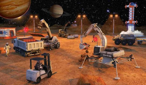 Space City Construction Simulator Game:Mars Colony screenshot 12
