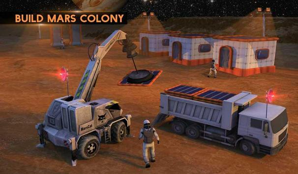 Space City Construction Simulator Game:Mars Colony screenshot 17