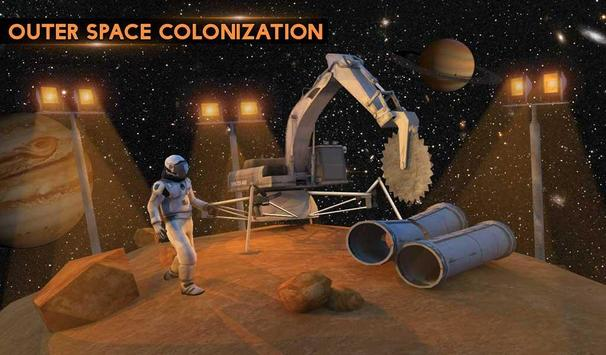 Space City Construction Simulator Game:Mars Colony screenshot 14