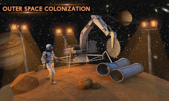 Space City Construction Simulator Game:Mars Colony screenshot 2