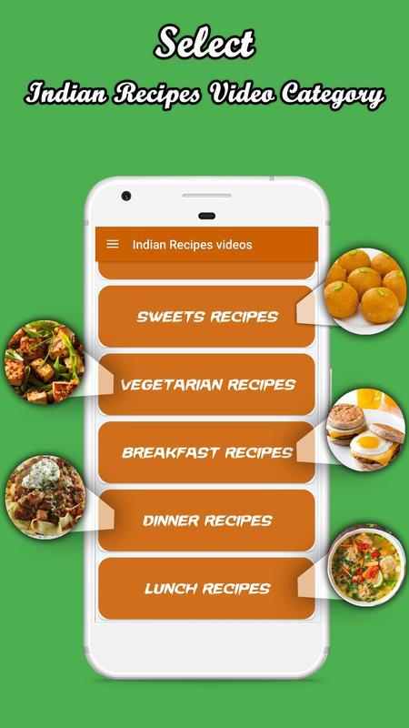 Indian cooking recipes videos 2018 descarga apk gratis estilo de indian cooking recipes videos 2018 captura de pantalla de la apk forumfinder Choice Image