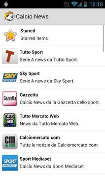 Calcio News poster
