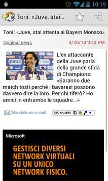 Calcio News apk screenshot
