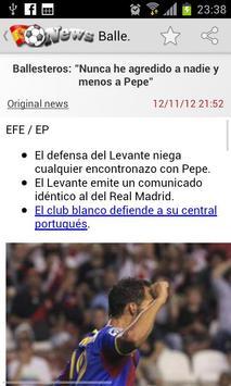Liga News screenshot 1