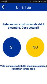 Di la tua - referendum 2016 screenshot 1
