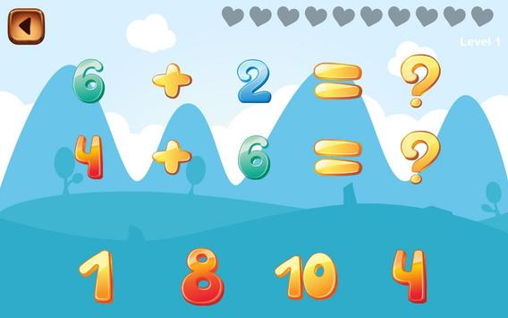 Child Learn Math 1st 2nd grade screenshot 1