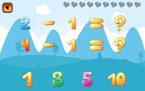Child Learn Math 1st 2nd grade screenshot 2