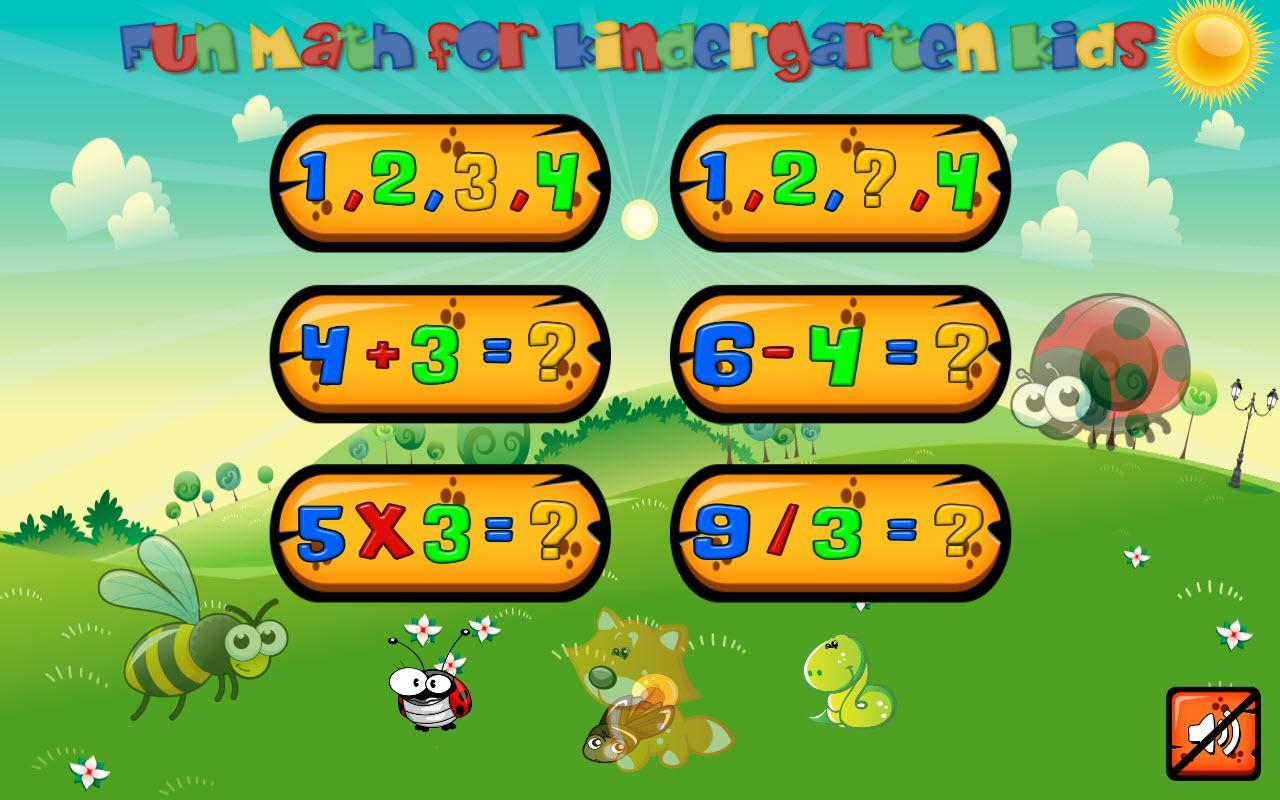 Animal Math Kindergarten Math Games for Kids Math for Android - APK ...