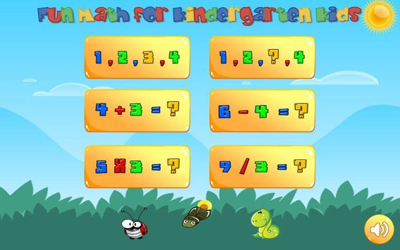 Learning numbers for kids! Writing Counting Games! apk screenshot