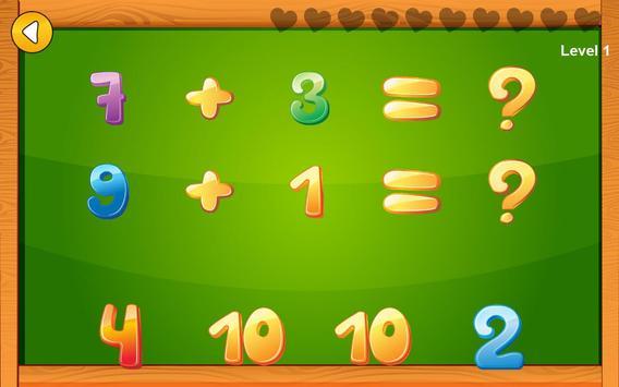 Preschool basic skills, numbers screenshot 3