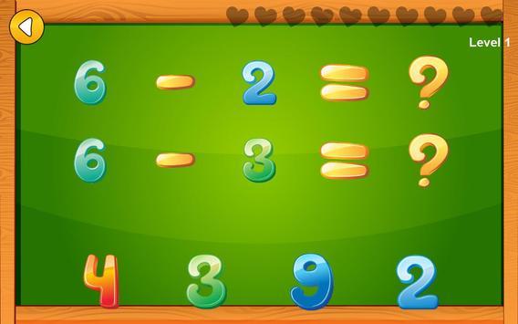 Preschool basic skills, numbers screenshot 11