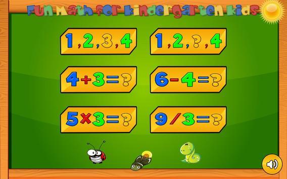 Preschool basic skills, numbers screenshot 14