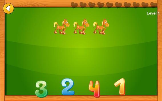Preschool basic skills, numbers screenshot 1