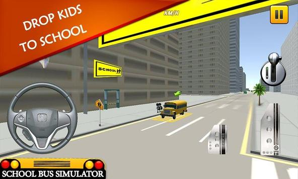 School Bus Simulator: Bus 🚌 screenshot 6