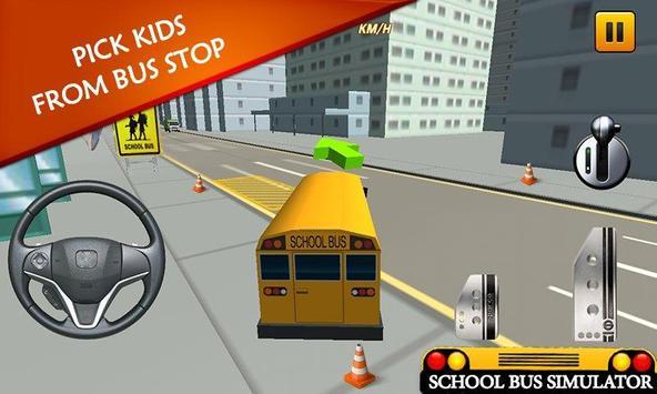 School Bus Simulator: Bus 🚌 screenshot 10