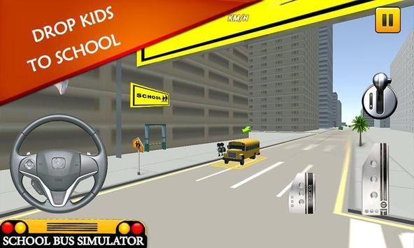 School Bus Simulator: Bus 🚌 screenshot 11