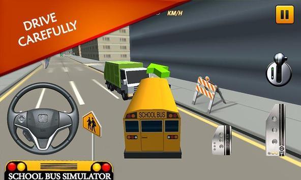 School Bus Simulator: Bus 🚌 screenshot 12