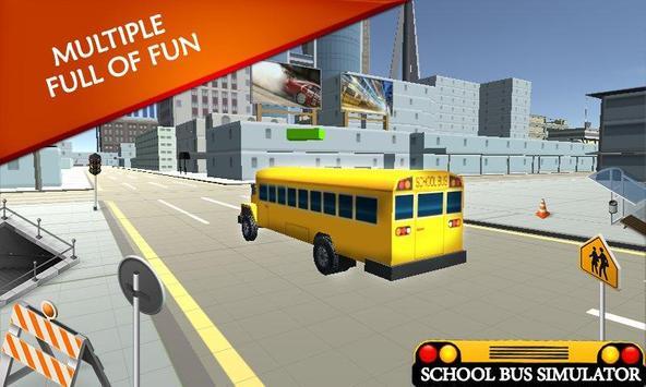 School Bus Simulator: Bus 🚌 screenshot 14