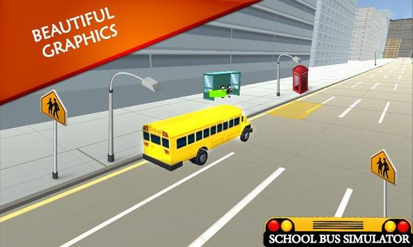 School Bus Simulator: Bus 🚌 screenshot 3