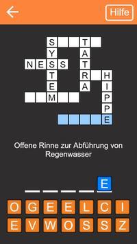 Kreuzworträtsel Deutsch kostenlos poster