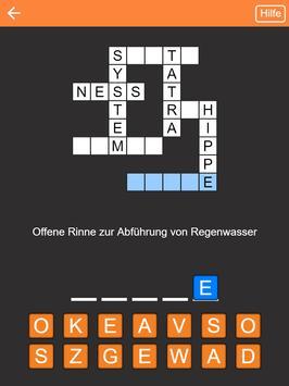 Kreuzworträtsel Deutsch kostenlos screenshot 3