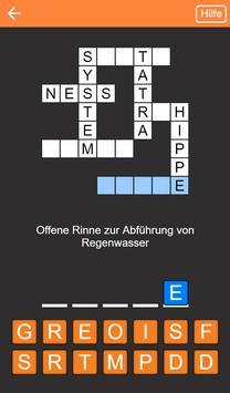 Kreuzworträtsel Deutsch kostenlos screenshot 5