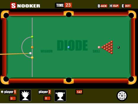เกมส์สนุกเกอร์โต๊ะใหญ่ apk screenshot