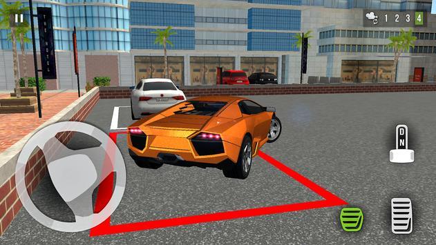 Car Parking 3D: Super Sport Car 2 Ekran Görüntüsü 3