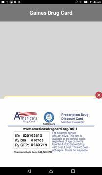 Gaines Drug Card screenshot 10