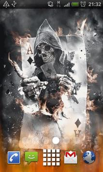 Ace Burning Grim Reaper LWP poster