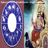 Saturn Transit Predictions - English & Tamil icon