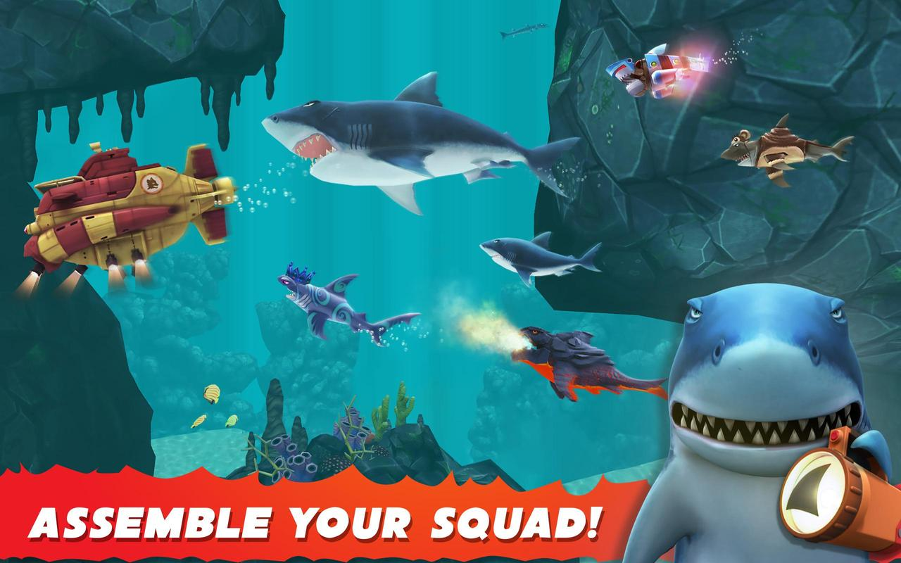 hungry shark evolution 破解 android