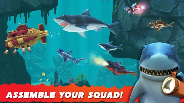 Hungry Shark Evolution captura de pantalla de la apk