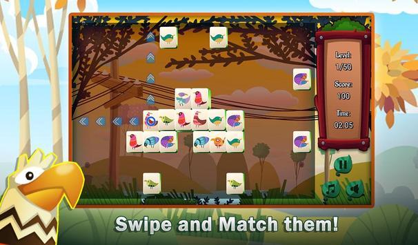 Mahjong Birds screenshot 1