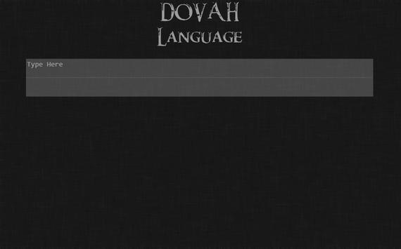 Skyrim Languages screenshot 5