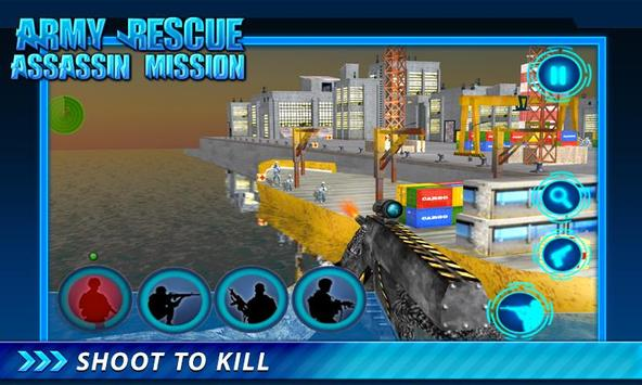 Army Rescue Assassin Mission screenshot 14