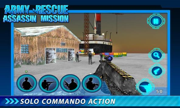 Army Rescue Assassin Mission screenshot 17
