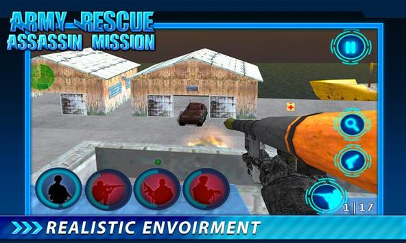 Army Rescue Assassin Mission screenshot 13