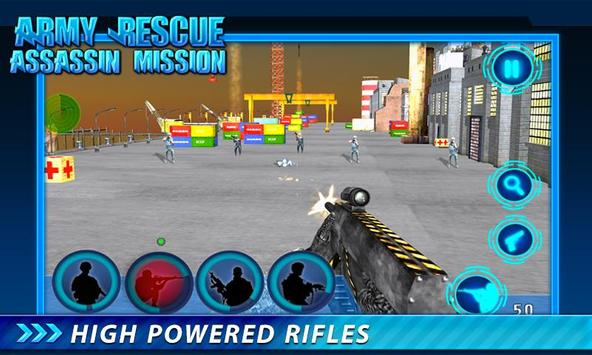 Army Rescue Assassin Mission screenshot 5