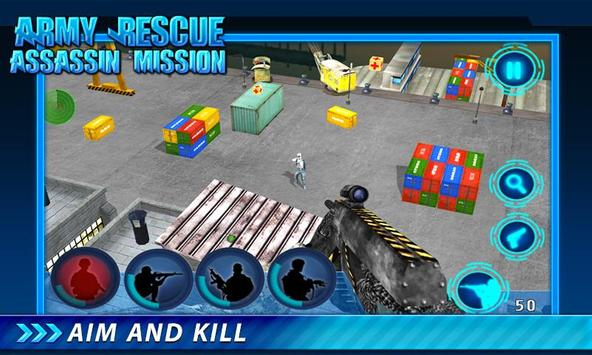 Army Rescue Assassin Mission screenshot 9