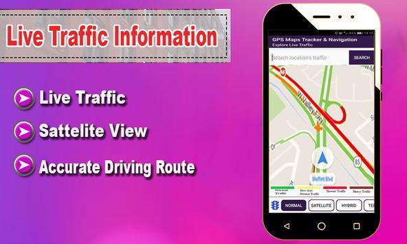 GPS Maps Tracker & Navigation: GPS Route Finder apk screenshot