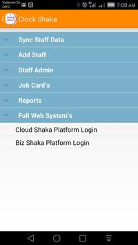 Clock Shaka apk screenshot