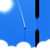 Flying Pixel icon