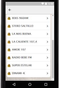 Radios Mexicanas Gratis Coah screenshot 11