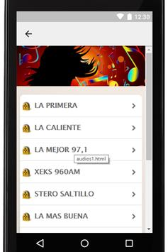 Radios Mexicanas Gratis Coah screenshot 1