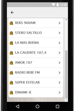 Radios Mexicanas Gratis Coah screenshot 3